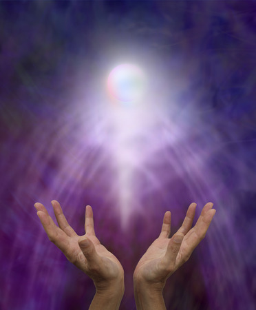 Spiritual healing orb Stock Photo - 28605943