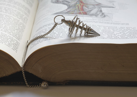 holistic health: Dowsing with an old medical book