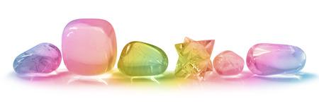 Mooie Regenboog Kristallen Banner