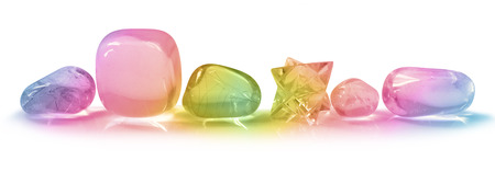 Pretty Rainbow Crystals Banner Imagens