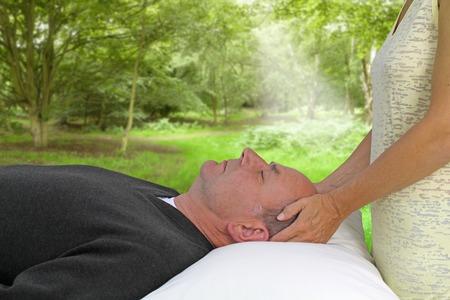 energy healing: Sessione di guarigione Outdoor