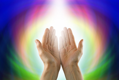 color healing: Healing Hands and Circle of Light