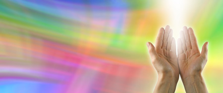 complementary therapy: Colour healing website banner