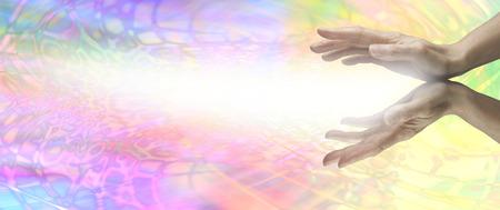 Rainbow Healing Website Banner photo