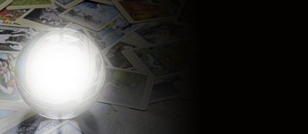 psiquico: Lector de Tarot s bandera del Web site