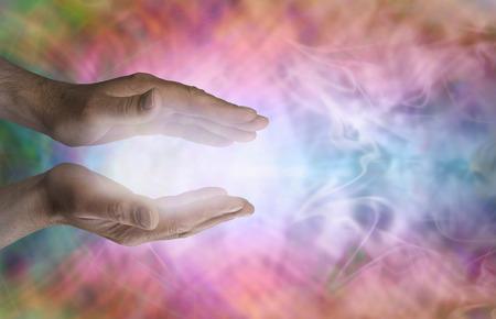 energy healing: Male  healing energy