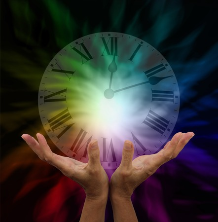 universal healer: Make time for healing Stock Photo