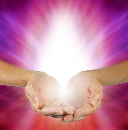 紫マゼンタの癒しのエネルギー
