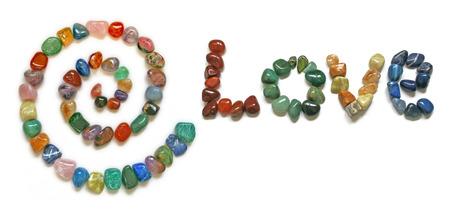 spirit new age: Love Spiral Crystals