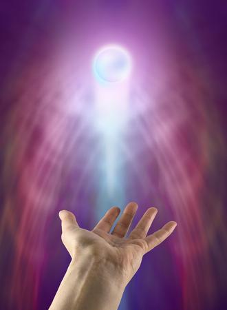 spirit new age: Spiritual Orb Stock Photo