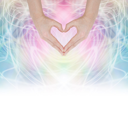 color healing: Heart Healing Energy