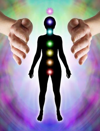 quantum: Het verzenden van Distant Healing naar Chakra's