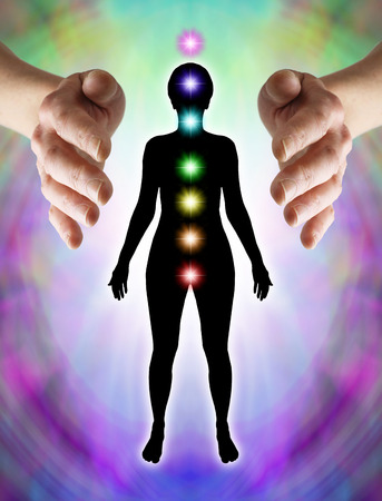 body consciousness:  Sending Distant Healing to Chakras