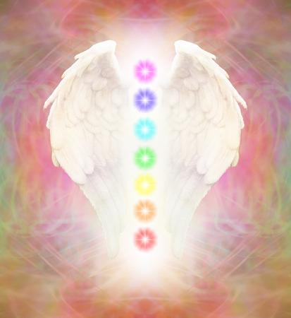 chakras: Reiki alas del �ngel y los siete Chakras