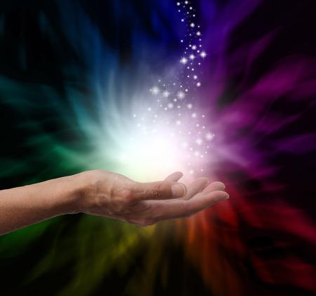 aura: Magische heilende Energie Lizenzfreie Bilder