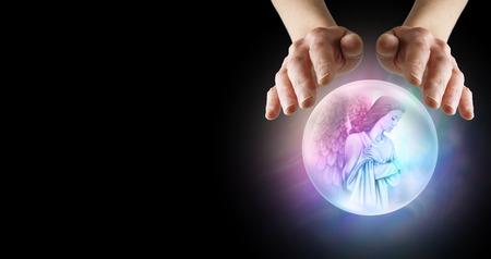 psychic reading: Medium with Angel Helper