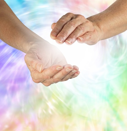 Beautiful Healing Vortex Stock Photo - 30189182