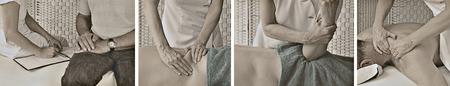 Vintage Style Massage Website Banner photo