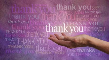 gratitudine: Dare Grazie Archivio Fotografico