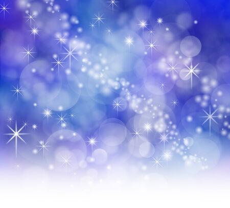 starry night: Starry Night Sparkling Bokeh background