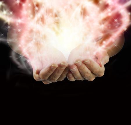 holistic healing: Christmas Healing Hands