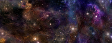empty space: Deep Space banner background