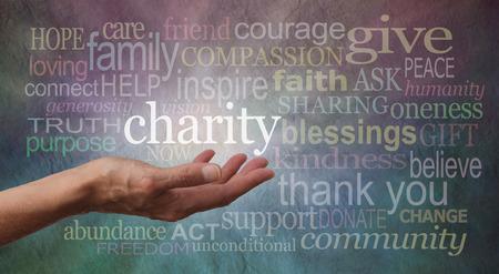 vagabundos: Dar a la caridad Banner