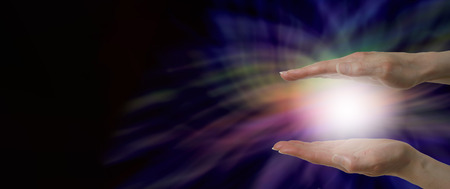 Energy healing website header