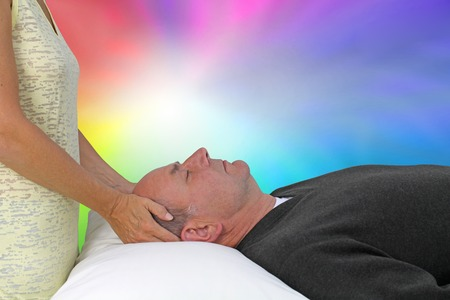 universal healer: Relaxing with a Colour Healing Session