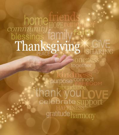 祝う: 感謝祭を祝う