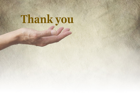 thanking: A Simple Thank You