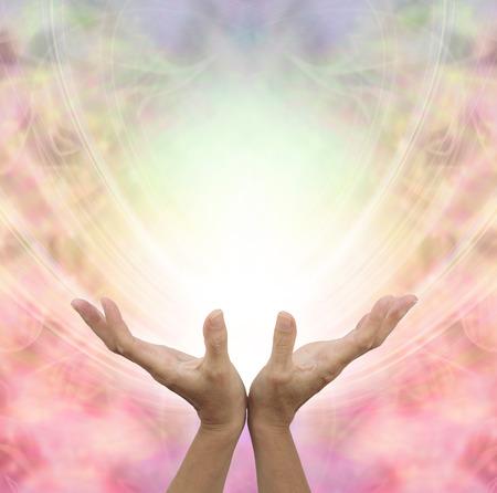 天使のような癒しのエネルギー