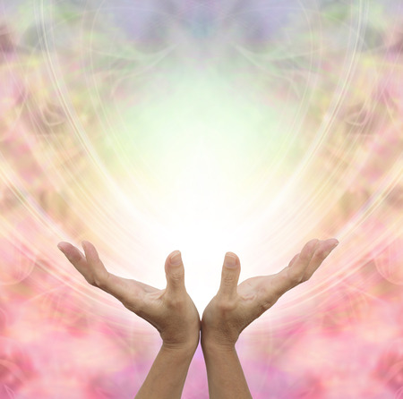 feminine hands: Angelic Healing Energy