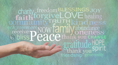 faith healing: Seeking World Peace