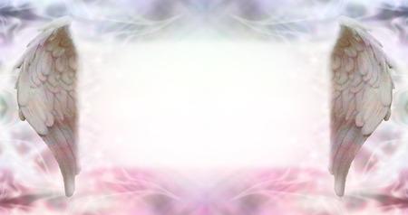 universal enlightenment: Angel Wings Message Board Banner