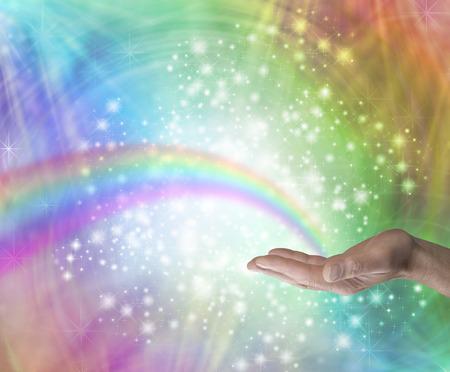 Sending Rainbow Healing Energy