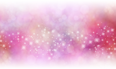 Starry Glittering Red and Pink Background Banner Stockfoto