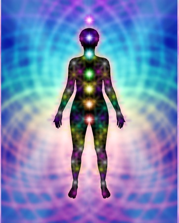 aquarian: New Chakras and Energy Matrix Field Diagram