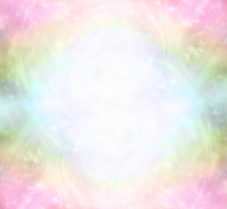 color healing: Ethereal Rainbow Healing Light Energy Field