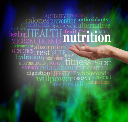 salud publica: Nutrición en la palma de tu mano