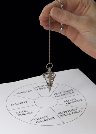 divining: Dowsing with chart