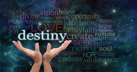 spiritual background: Your Destiny is in Your Hands