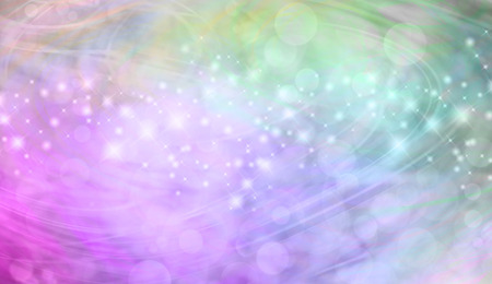 website header: Beautiful green and pink bokeh sparkly website header