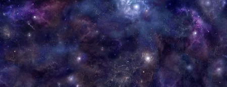 empty space: Deep Space wide background website header