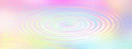 arc en ciel: Arc-en-Ripple eau - L'eau effet d'entra�nement de fond cr�� avec pastel couleurs de l'arc Banque d'images