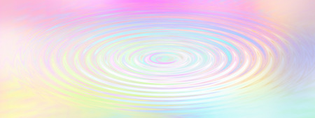 Rainbow Water Ripple - Water effect ripple background created with soft pastel rainbow colors