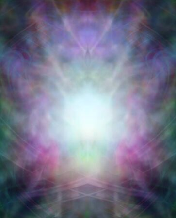 energy healing: A beautiful misty intricate healing energy background Stock Photo