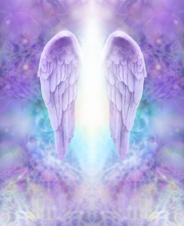 guardian angel: Lilac Angel Wings