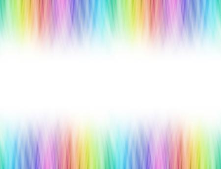 Rainbow blend graduated linear header and footer Stok Fotoğraf