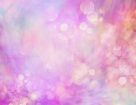 Pink Feminine Bokeh Background